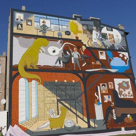 Art Mural Challenge w Łodzi