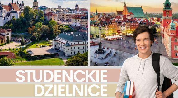 Najbardziej studenckie dzielnice w Polsce
