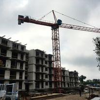Reduta Nowe Podolany w budowie