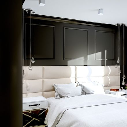 Sypialnia w stylu hotelowym