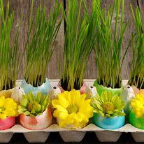 Kompozycje kwiatowe na Wielkanoc