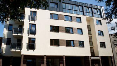 Apartamentowiec przy ul. Skłodowskiej-Curie 26