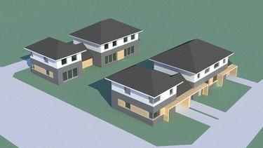 Zespół budynków jednorodzinnych
