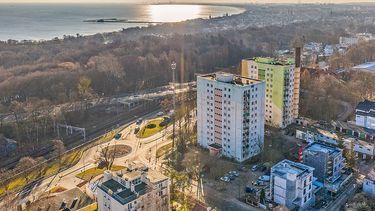Zakątek Sopot - Zielone tarasy z widokiem na morze