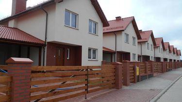 Domy szeregowe przy ul. Kmicica