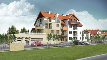 Apartamentowce w Osielsku