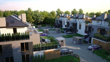 Apartamenty Cyraneczki - osiedle domów