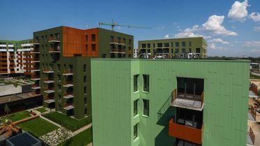 Mieszkaj w mieście - etap Kompozytorów budynek G.