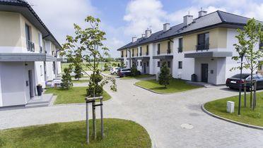 Rezydencja Ustronie Morskie domy szeregowe z ogrodem