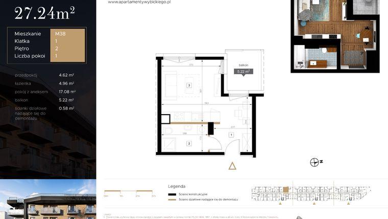 Apartamenty Wybickiego